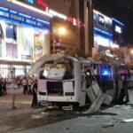 Военный эксперт: Взрыв автобуса в Воронеже возможно был терактом